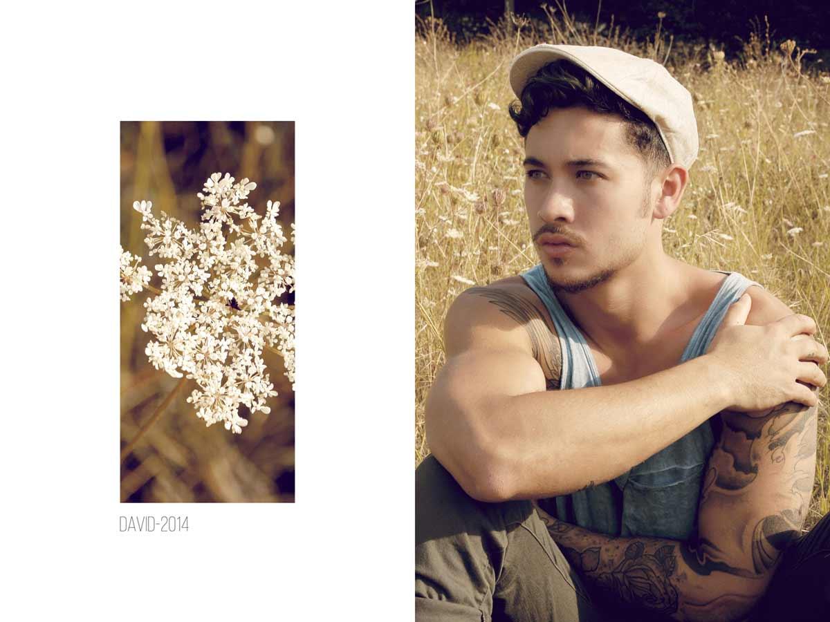 Portrait estival de David, dans un champ, à Auriol © Kevin Amiel