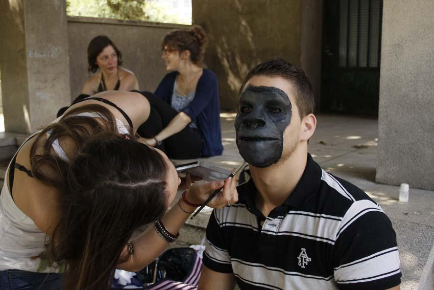 maquillage et prothèse sur-mesure réalisés par alexia pasquet © Kevin Amiel