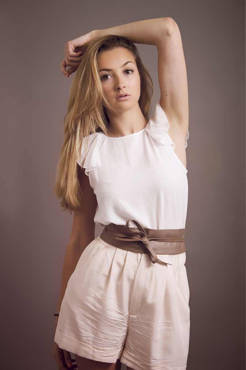 Portrait de Laure pour Enjoy Models Marseille © Kevin Amiel