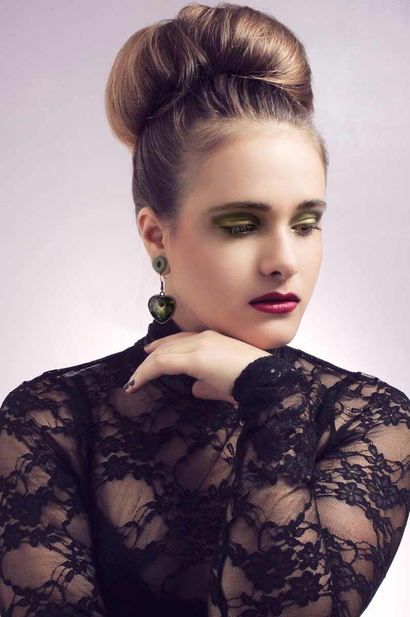 Portrait de Marina, maquillée par Alexia Pasquet © Kevin Amiel