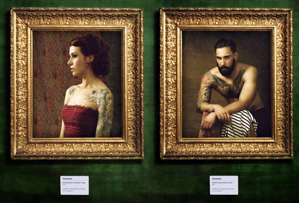 Tattoo Project - Laetitia et Samuel Lhermillier © Kevin Amiel