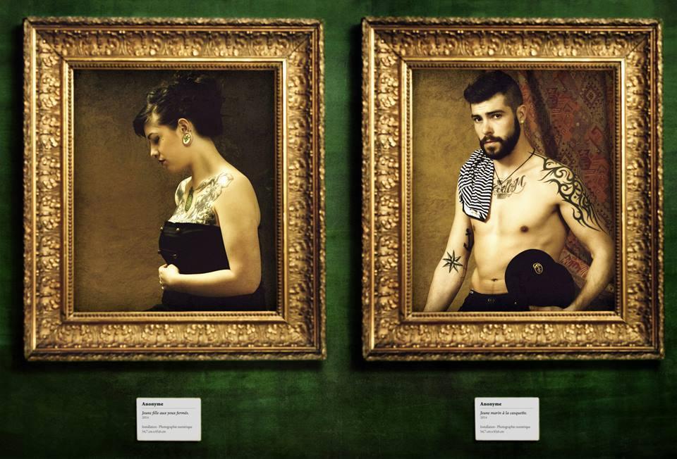 Tattoo Project - Joleene et Jean-Baptiste © Kevin Amiel