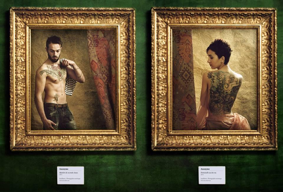 Tattoo Project - Mathieu et Amélie © Kevin Amiel