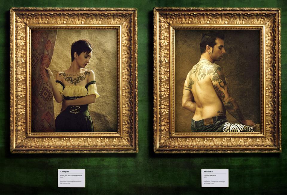 Tattoo Project - Am&lie et Dominique © Kevin Amiel