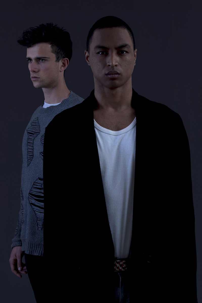 Portrait en duo masculin de nicolas et ugo © Kevin Amiel